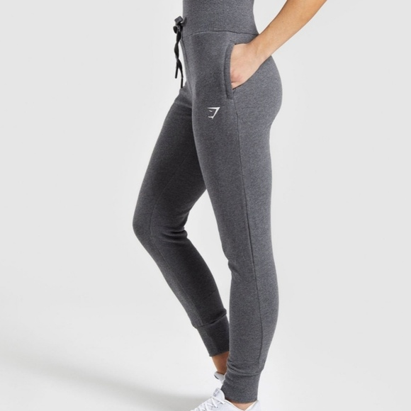 c8fe42c3a4a3e0 Gymshark Pants | Nwt High Waisted Joggers Gray | Poshmark